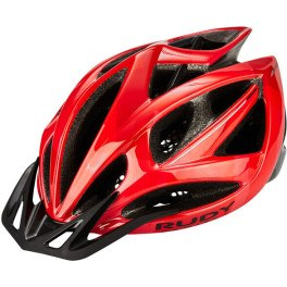Rudy Project Airstorm Mtb Red - Black Camo (shiny) Visor-free Pads-bug Stop Incl.