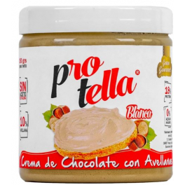 Protella Crema de Chocolate Blanco con Avellanas 250 gr