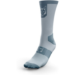 Otso Calcetines de Ciclismo High Cut Turquoise & Steel Blue
