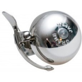 MINI SUZU Bell w/ Steel Band Mount color:polished