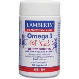 Lamberts Omega 3 For Kids Dha Y Epa 100 Caps