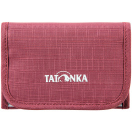Tatonka Folder Billetero Rojo Burdeos