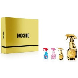 Moschino Fresh Couture Gold Lote 4 Piezas Mujer