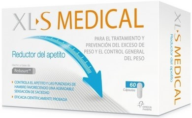 XL-S Medical Reductor del Apetito 60 caps