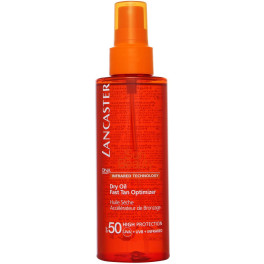 Lancaster Sun Beauty Dry Touch Oil Fast Tan Spf50 Vaporizador 150 Ml Unisex