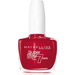 Maybelline Superstay Nail Gel Color 008-passionate Red Mujer
