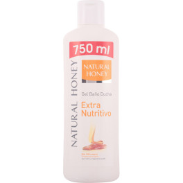 Natural Honey Dermo Nutritivo Gel De Ducha 750 Ml Unisex
