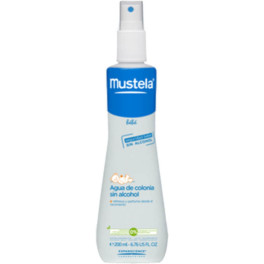 Mustela Agua De Colonia Sin Alcohol 200ml Spray