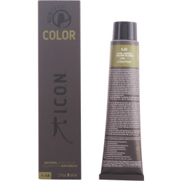 I.c.o.n. Ecotech Color 6.43 Dark Copper Golden Blonde 60 Ml Unisex