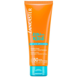 Lancaster Sun Kids Comfort Cream Wet Skin Spf50 125 Ml Unisex