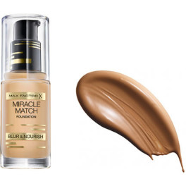 Max Factor Miracle Match Blur & Nourish Foundation 90-toffee Mujer