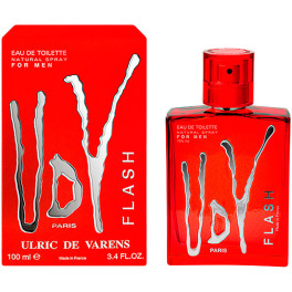 Urlic De Varens Udv Flash For Men Eau de Toilette Vaporizador 100 Ml Unisex