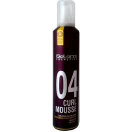Salerm Curl Mousse Extra Strong 300 Ml Unisex