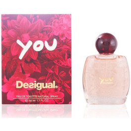 Desigual You Eau de Toilette Vaporizador 30 Ml Mujer