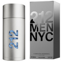 Carolina Herrera 212 Nyc Men Eau de Toilette Vaporizador 200 Ml Hombre