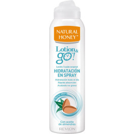 Natural Honey Lotion & Go! Loción Corporal Hidratación En Spray 200 Ml Unisex
