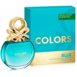 Benetton Colors Blue Eau de Toilette Vaporizador 50 Ml Mujer