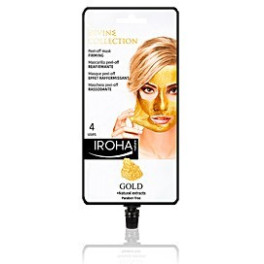 Iroha Gold Peel-off Firming Mask 4 Uses Mujer