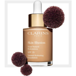 Clarins Skin Illusion Teint Naturel Hydratation 110-honey 30 Ml Mujer
