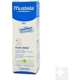 Mustela Hydrabebe Crema Facial Piel Normal 40ml