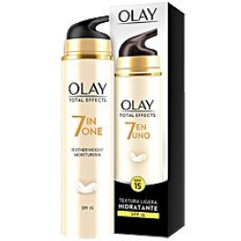 Olay Total Effects Textura Ligera Crema Día Spf15 50 Ml Mujer