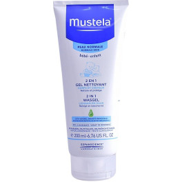Mustela Bébé 2 In 1 Hair & Body Wash 200 Ml Unisex
