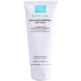 Martiderm Body Scrub Active Cleansing 200 Ml Unisex