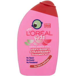L'oreal Kids Very Berry Strawberry Shampoo 250 Ml Unisex