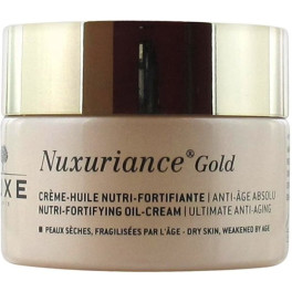 Nuxe Nuxuriance Gold Crème-huile Nutri-fortifiante 50 Ml Mujer