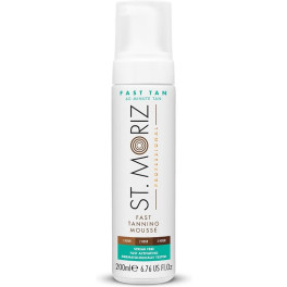 St. Moriz Professional Fast Tanning Mousse 200 Ml Unisex