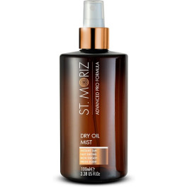 St. Moriz Advanced Pro Formula Dry Oil Self Tanning Mist 100 Ml Unisex