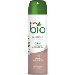 Byly Bio Natural 0% Invisible Deodorant Spray 75 Ml Unisex