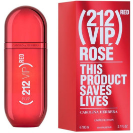 Carolina Herrera 212 Vip Rosé Red Limited Edition Eau de Parfum Vaporizador 80 Ml Mujer