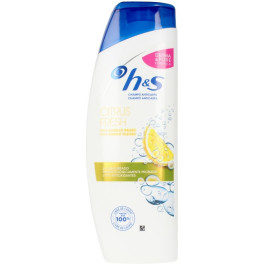Head & Shoulders H&s Citrus Fresh Cabellos Grasos Champú 360 Ml Unisex