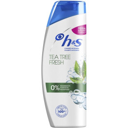 Head & Shoulders H&s Tea Tree Fresh Limpia & Purifica Champú 360 Ml Unisex