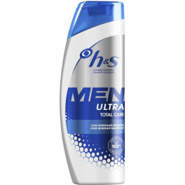 Head & Shoulders H&s Men Ultra Champú Total Care 600 Ml Hombre