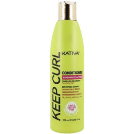 Kativa Keep Curl Conditioner 250 Ml Mujer