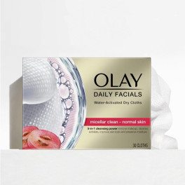 Olay Cleanse Daily Facials Micellar Toallitas Secas Pn 30 Uds Mujer