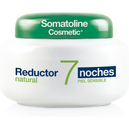 Somatoline Reductor Natural 7 Noches Piel Sensible 400 Ml Mujer
