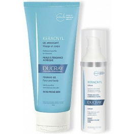 Ducray Keracnyl Serum 30ml + Gel Limpiador 200ml