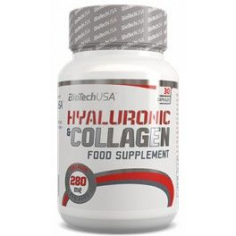 BioTechUSA Hyaluronic & Collagen 30 caps