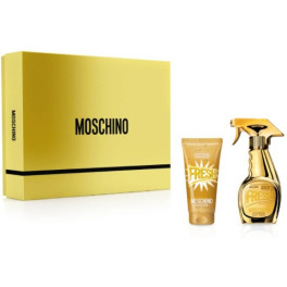 Moschino Fresh Couture Gold Lote 2 Piezas Unisex