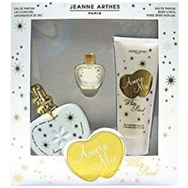 Amore Mio White Pearl Edp 100ml Spray + Locion Corporal + Mini