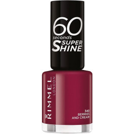 Rimmel London 60 Seconds Super Shine 340-berries And Cream Mujer