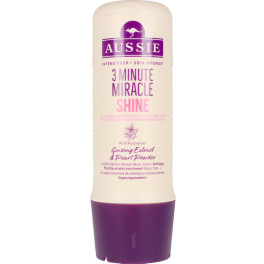 Aussie 3 Minute Miracle Shine Deep Treatment 250 Ml Mujer