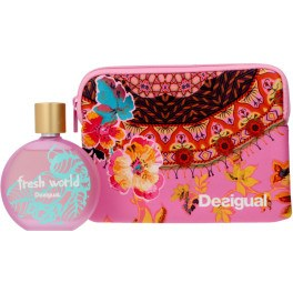 Desigual Fresh World Lote 2 Piezas Unisex