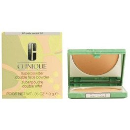 Clinique Superpowder Double Face 07-matte Neutral 10 Gr Mujer