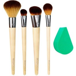 Ecotools Airbrush Complexion Lote 5 Piezas Mujer