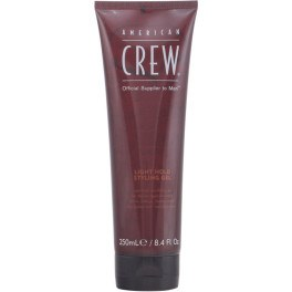 American Crew Light Hold Styling Gel 250 Ml Hombre