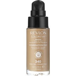 Revlon Colorstay Foundation Combinationoily Skin 340-earyly Tan Mujer